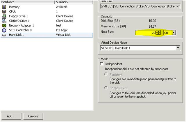 How-to extend the VMDK and the Windows disk - ivobeerens nl