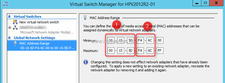 Check for duplicate MAC Address pools in your Hyper-V