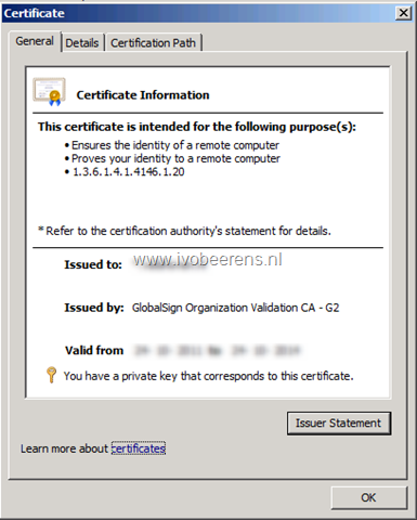 Install a wildcard certificate on a VMware Horizon View Security
