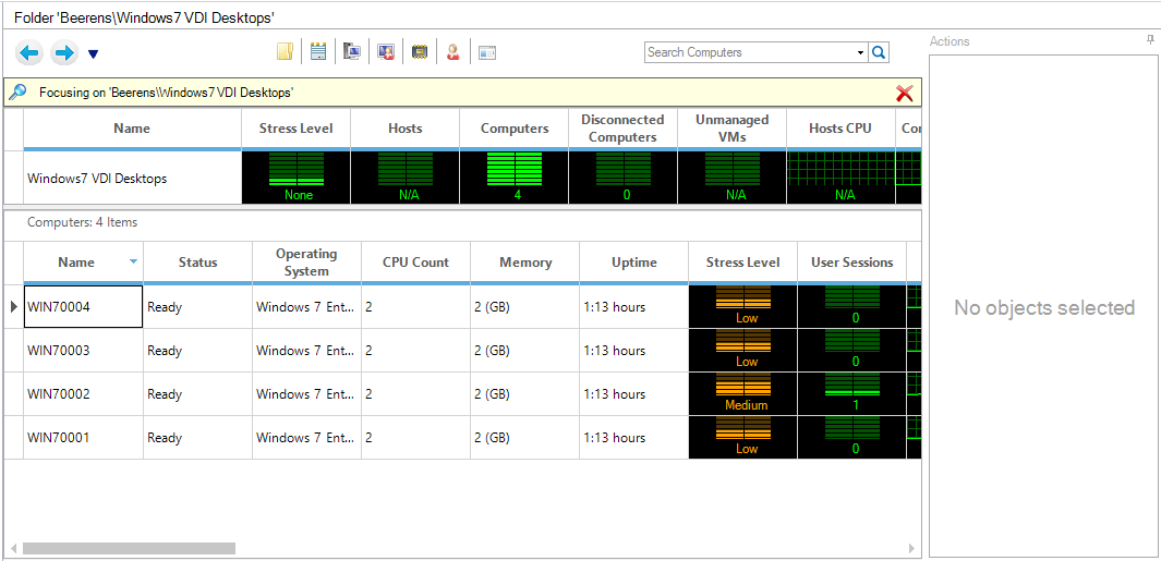 Monitor VMware Horizon View environments with ControlUp - ivobeerens nl