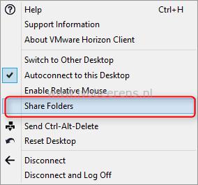 VMware Horizon View Client Drive Redirection - ivobeerens nl