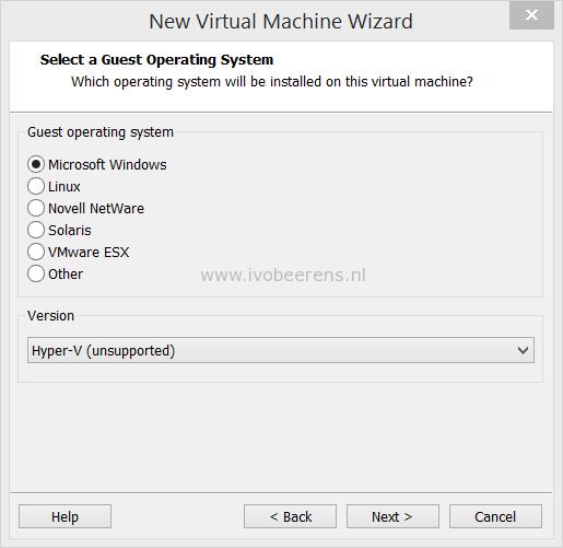 Test Windows Server 2016 Hyper-V with VMware Workstation