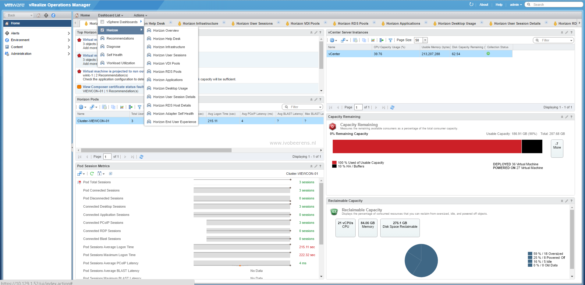 Tested: VDI End User Experience monitoring tools - ivobeerens nl