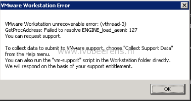 Upgrading VMware Update Manager to 5 5 U3e fails - ivobeerens nl