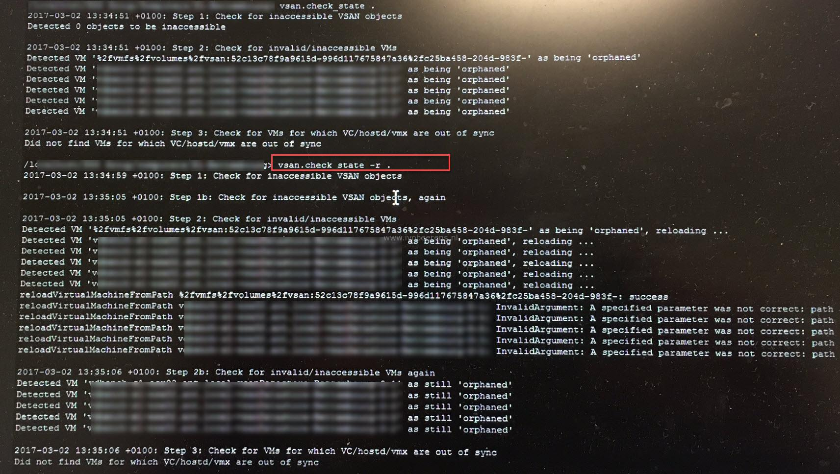 Fix orphaned vSAN objects - ivobeerens nl