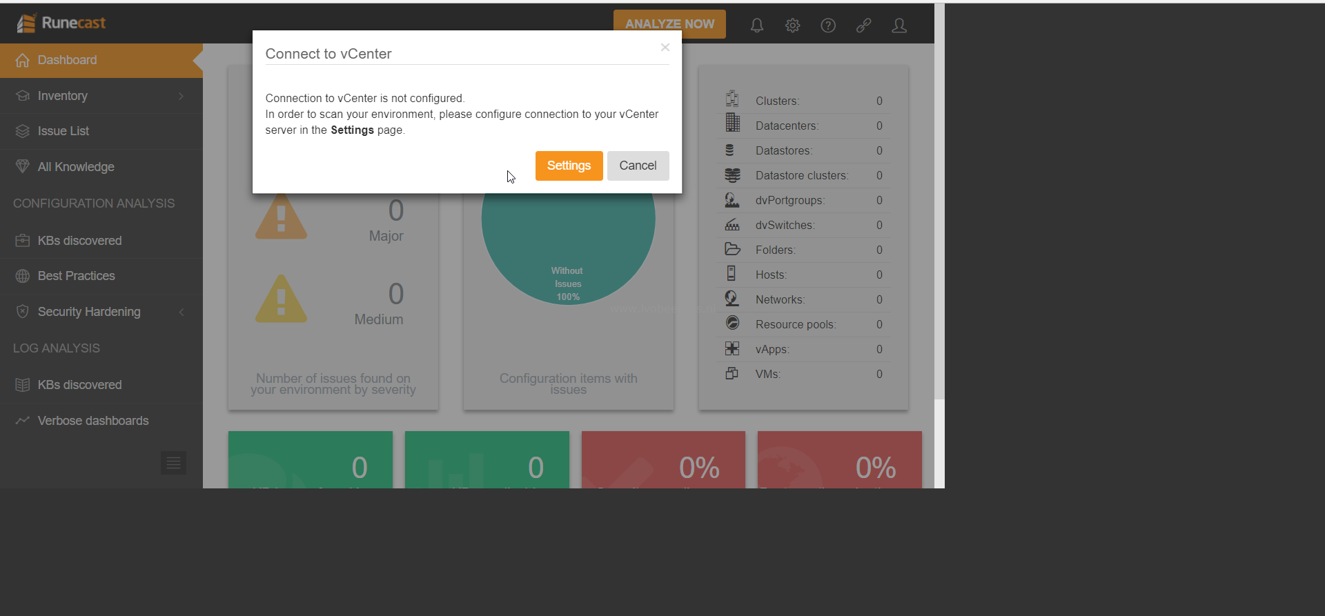 Proactively manage your vSphere environment with Runecast