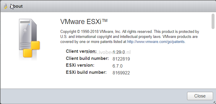 Configure VM autostart in the ESXi Embedded Host Client