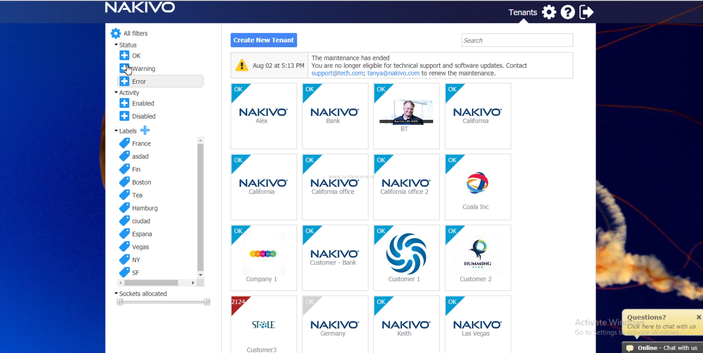 Review NAKIVO Backup & Replication - Multi-Tenancy