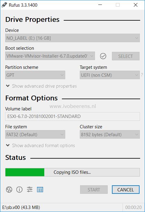 Quick tip: Create a bootable VMware ESXi key - ivobeerens nl