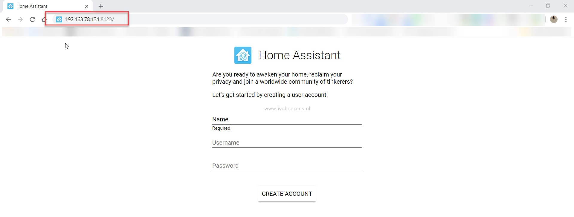 Install Home Assistant Hass io as VM in VMware Workstation