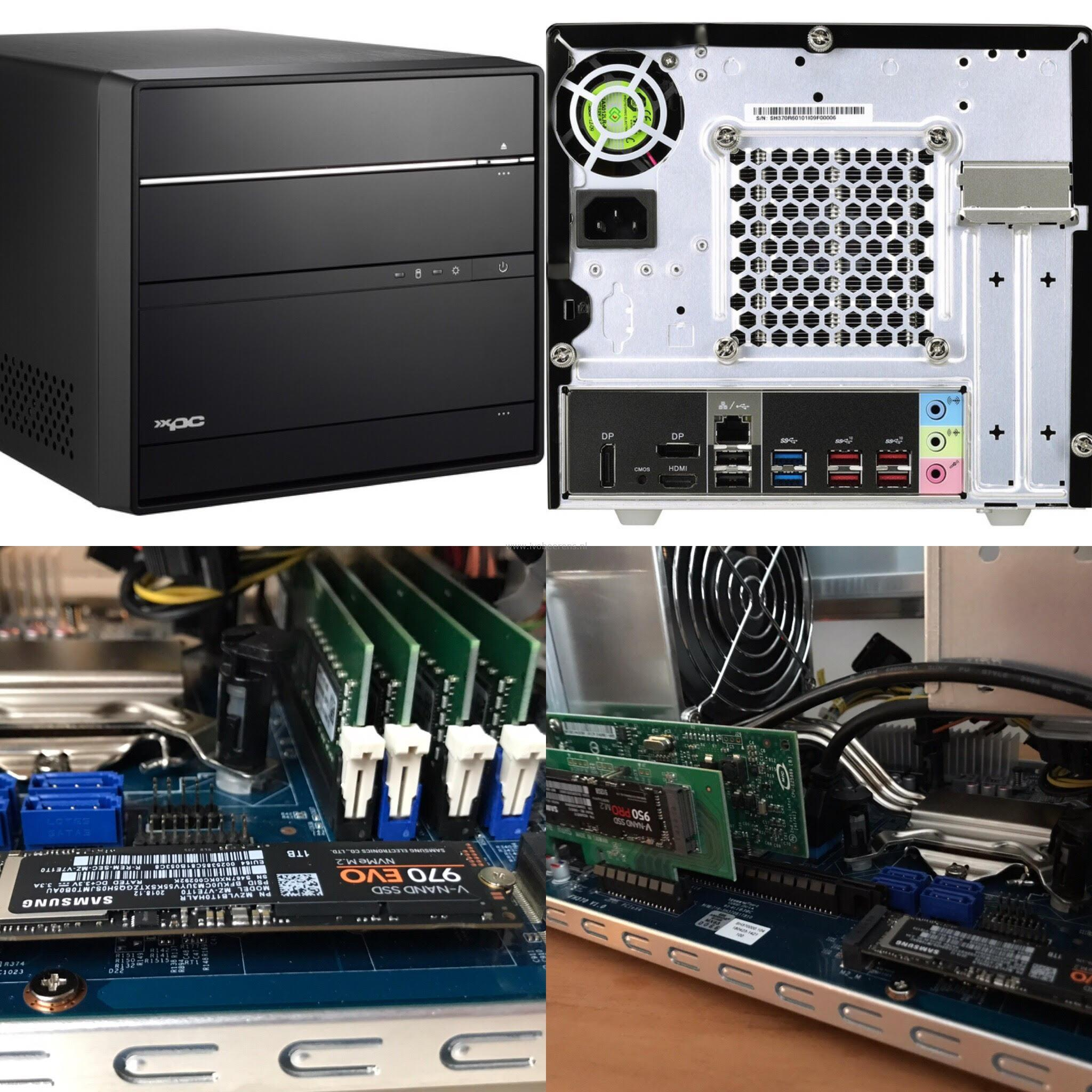 Using the Shuttle SH370R6 plus as home lab server